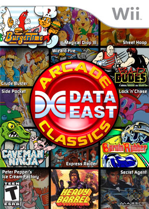 Data East Arcade Classics boxshot