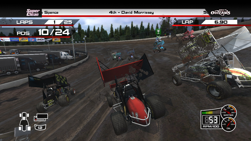 Amazon com: World Of Outlaws Sprint Cars - Xbox 360: PC