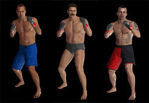 Exclusive fighters Royce Gracie, Dan Severn and Jens Pulver included in the PS3 version of UFC Undisputed 2010