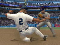 The Red Sox forcing Derek Jeter out at second in MLB 10: The Show