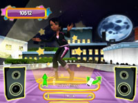 Using the Wii Remote to do some Hip-Hop in Dance Sensation!