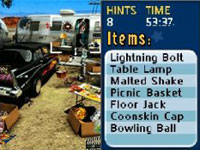 A yard sale at the trailer park in Yard Sale Hidden Treasures: Sunnyville