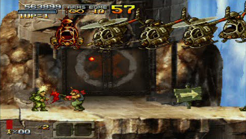 Amazon.com: Metal Slug XX - Sony PSP: Video Games