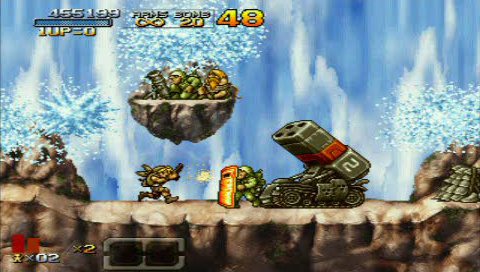 New Combat School ranking sysyem in Metal Slug XX