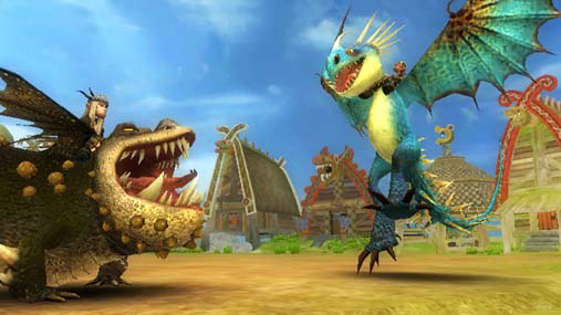 Amazon Com How To Train Your Dragon Nintendo Wii Video