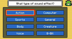 Creating sound effects in WarioWare D.I.Y.