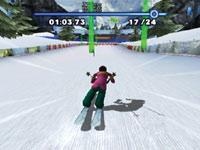 Ski Slalom in Winter Blast: 9 Snow & Ice Games