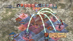 A linked collaborative attack in Record of Agarest War