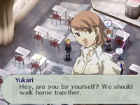 Social Link dialog screen from Shin Megami Tensei: Persona 3 Portable