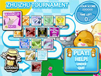 Zhu Zhu Tournament events available in Zhu Zhu Pets