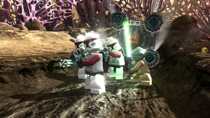 Like fire across the galaxy, the LEGO Star Wars III: Clone Wars shall