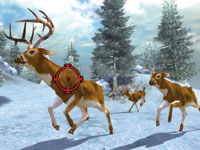 Targeting bucks on the move in the snow in Cabela's Monster Buck Hunter
