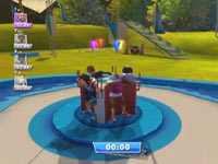 4-player game support in Wipeout: the Game