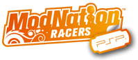 ModNation Racers for PSP game logo