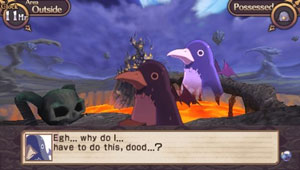 A Prinny protesting your directions in Disgaea Infinite