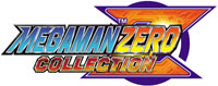 Mega Man Zero Collection game logo