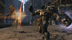 War using an magical ability on an enemy in Darksiders