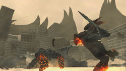 War fighting atop his trusted mount Ruin in Darksiders