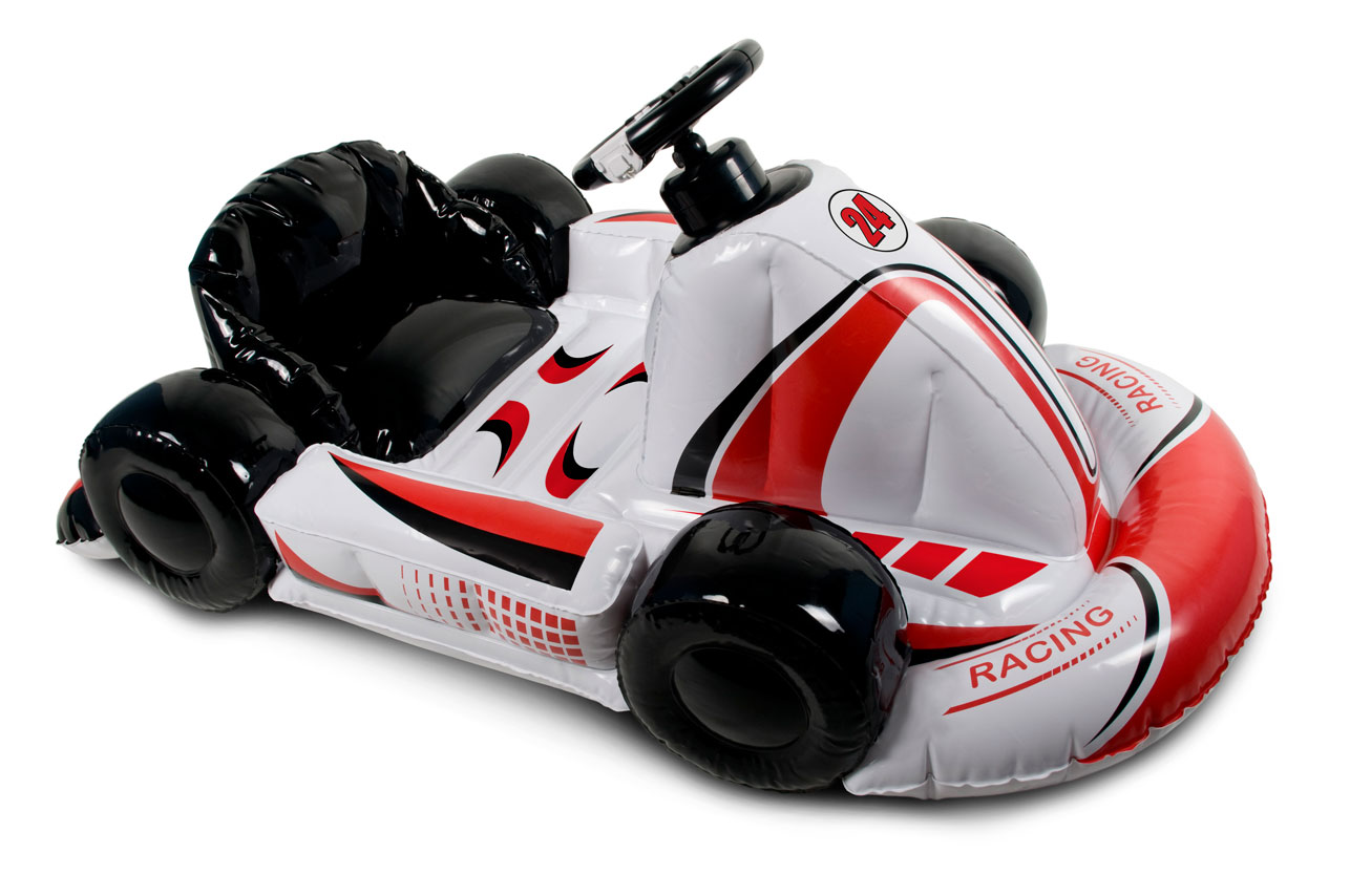 wii inflatable racing kart video games. Black Bedroom Furniture Sets. Home Design Ideas