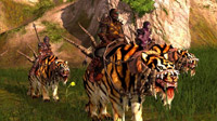New Tiger and Wolf mounts