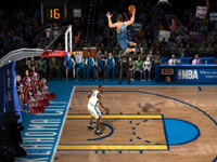 Kevin Durant getting dunked on in NBA JAM