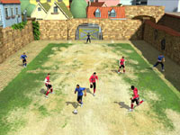 5-on-5 play in FIFA Soccer 11 for Wii