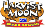 Harvest Moon: Grand Bazaar game logo