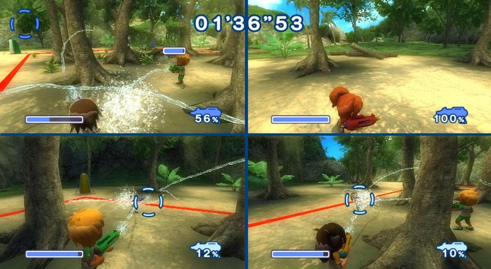 4 player nintendo wii games