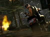 One of several in-game riders with a storyline found in Motorstorm Apocalypse
