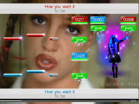 Britney Spears video from SingStar Dance