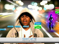 Chris Brown video from SingStar Dance