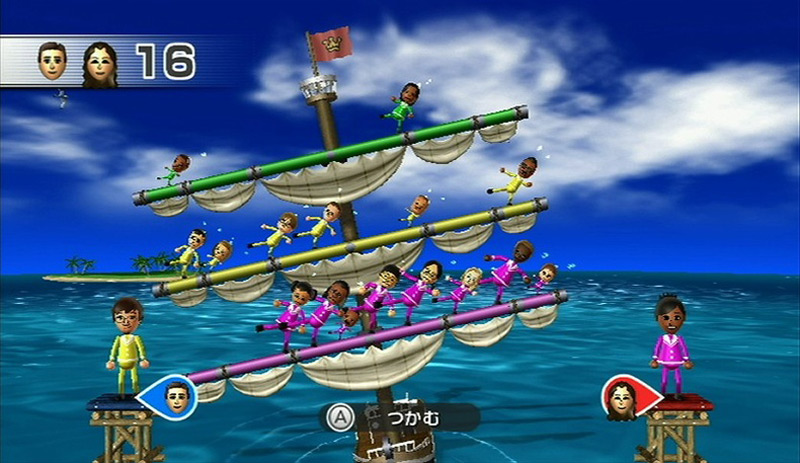 Co-op gameplay from Wii Party