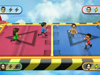 Mii integration into gameplay in Wii Party