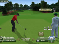 Caddie Advice seen in Tiger Woods PGA Tour 12: The Masters for Wii