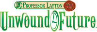 Professor Layton and the Unwound Future game logo