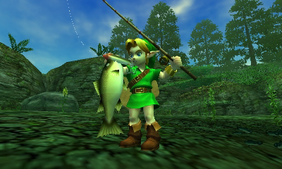 Amazon com: The Legend of Zelda: Ocarina of Time 3D: Video Games