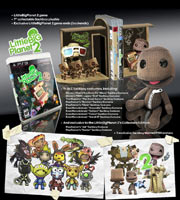 Box contents of LittleBigPlanet 2 Collector's Edition