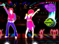 Real dance move within Just Dance 2
