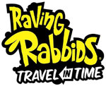 Raving Rabbids: Travel in Time game logo