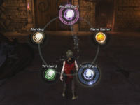 Spells available via the PlayStation Move motion controller in Sorcery