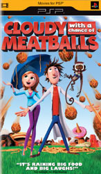 Cloudy with a Chance of Meatballs Downloadable PSP Movie
