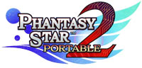 Phantasy Star Portable 2 game logo
