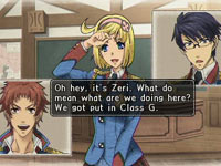 Character dialog in Valkyria Chronicles 2