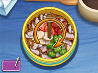 Stirring mini-game Dora's Cooking Club