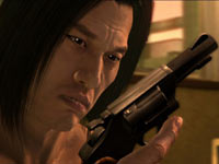 Packing heat in Yakuza 4