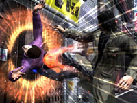 Unleashing a finishing move in Yakuza 4