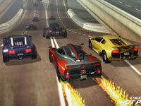 Accelerating from the back of the pack in Need For Speed: Hot Pursuit for Wii