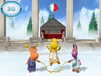 Jumping rope with the Backyardigans in Nickelodeon Fit