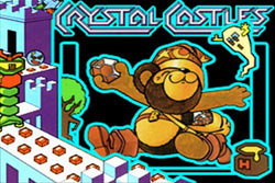 The Crystal Castles game load screen from Atari's Greatest Hits Vol. 2 for DS