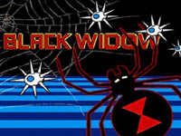 The Black Widow game load screen from Atari's Greatest Hits Vol. 2 for DS